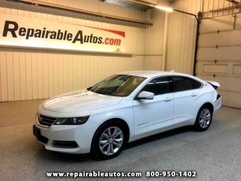 2018 Chevrolet Impala for sale at Ken's Auto in Strasburg ND
