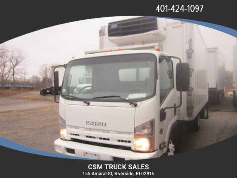 2013 Isuzu NPR for sale at CSM TRUCK SALES in Riverside RI