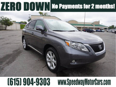 2012 Lexus RX 350 for sale at Speedway Motors in Murfreesboro TN