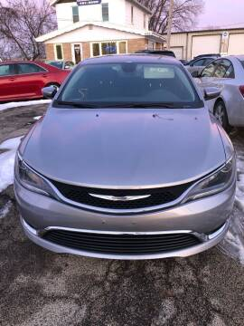 2015 Chrysler 200 for sale at Wyss Auto in Oak Creek WI