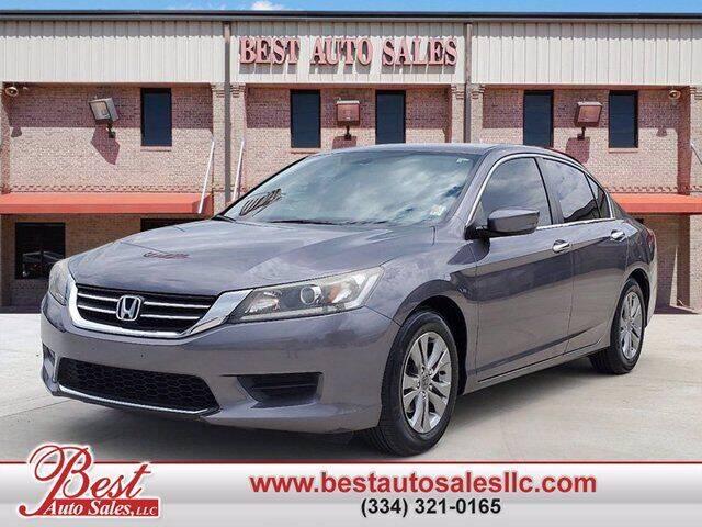 2014 Honda Accord for sale at Best Auto Sales LLC in Auburn AL