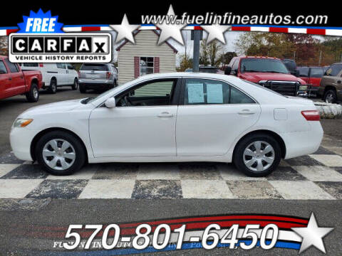 2009 Toyota Camry for sale at FUELIN FINE AUTO SALES INC in Saylorsburg PA
