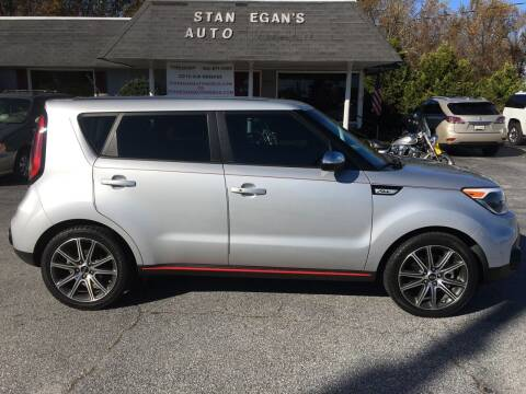 2017 Kia Soul for sale at STAN EGAN'S AUTO WORLD, INC. in Greer SC