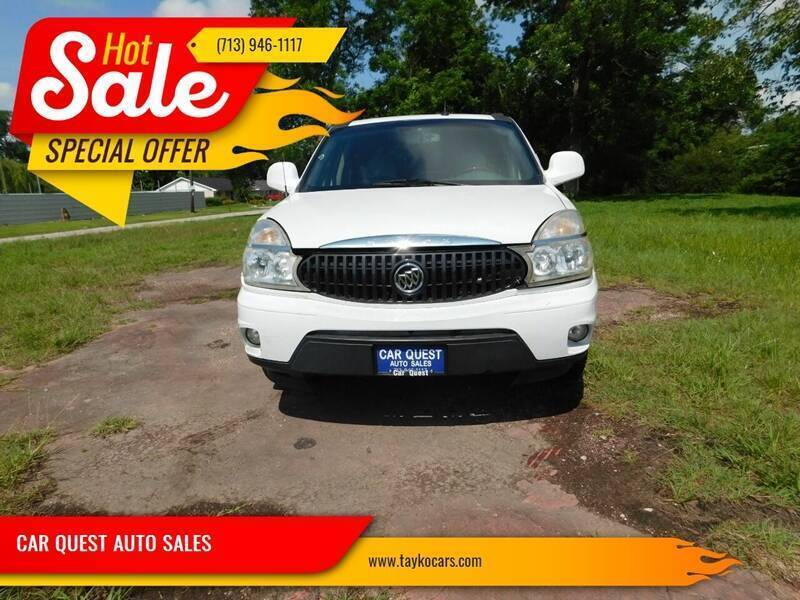 2006 Buick Rendezvous for sale at CAR QUEST AUTO SALES in Houston TX