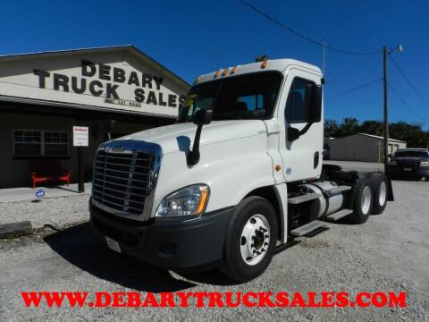 2015 Freightliner CASCADIA 125 TANDEM AXLE  for sale at DEBARY TRUCK SALES in Sanford FL