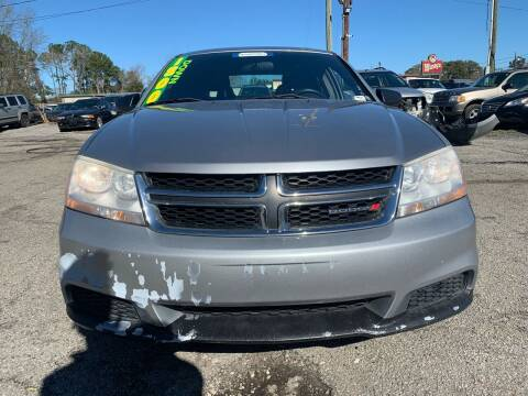 2014 Dodge Avenger for sale at Auto Mart in North Charleston SC