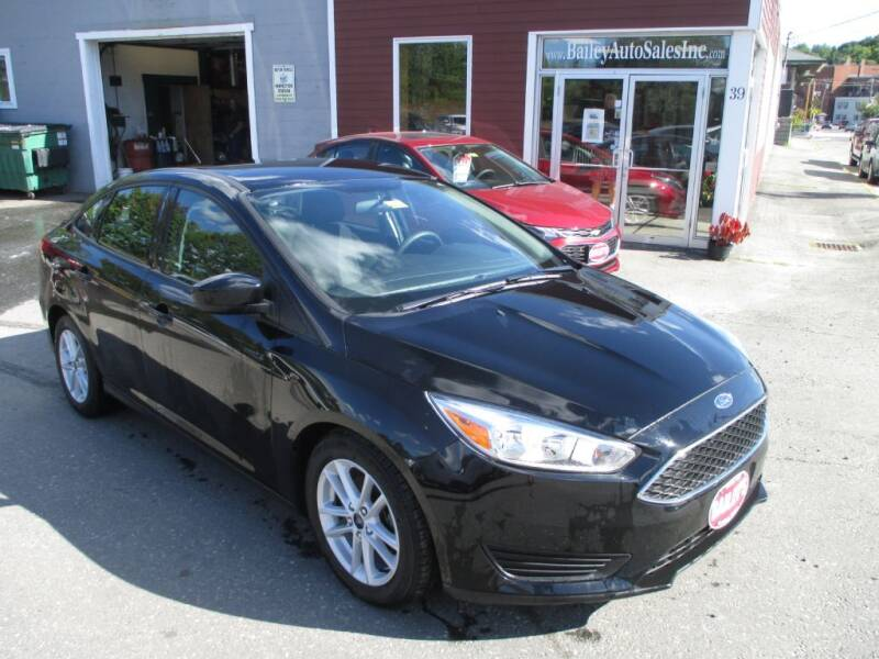 2018 Ford Focus for sale at Percy Bailey Auto Sales Inc in Gardiner ME