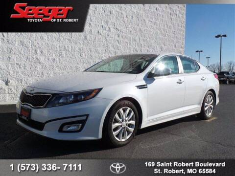 2015 Kia Optima for sale at SEEGER TOYOTA OF ST ROBERT in St Robert MO