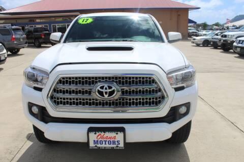 2017 Toyota Tacoma for sale at Ohana Motors in Lihue HI