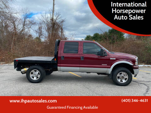 2005 Ford F-350 Super Duty for sale at International Horsepower Auto Sales in Warwick RI