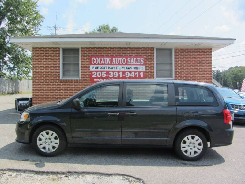 2014 Dodge Grand Caravan for sale at Colvin Auto Sales in Tuscaloosa AL