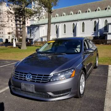 2013 Volkswagen Passat for sale at Boston Auto World in Quincy MA