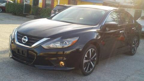 2018 Nissan Altima for sale at Global Vehicles,Inc in Irving TX