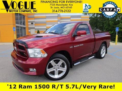 2012 RAM Ram Pickup 1500 for sale at Vogue Motor Company Inc in Saint Louis MO