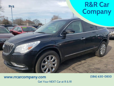 2013 Buick Enclave for sale at R&R Car Company in Mount Clemens MI
