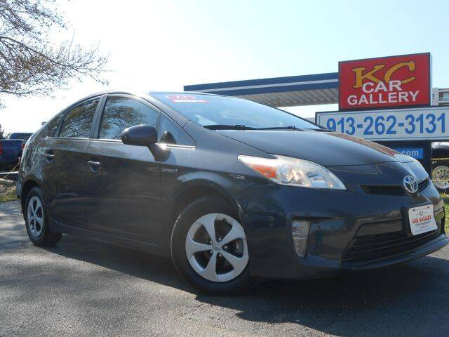 2012 Toyota Prius for sale at KC Car Gallery in Kansas City KS