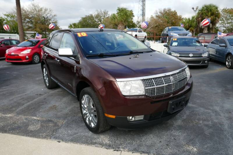 2010 Lincoln MKX for sale at J Linn Motors in Clearwater FL