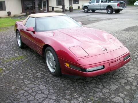 1994 Chevrolet Corvette for sale at Terry Mowery Chrysler Jeep Dodge in Edison OH