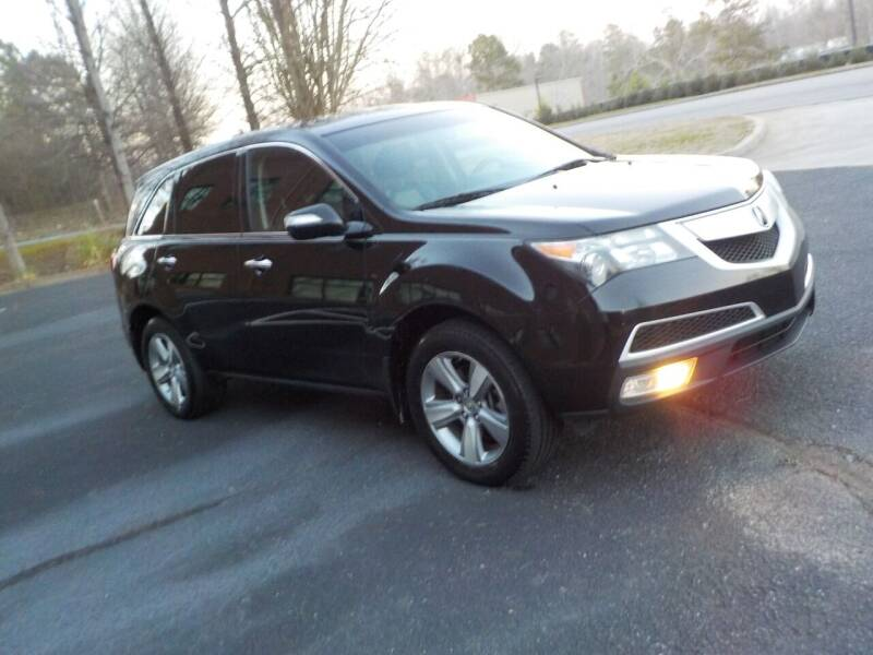 2013 Acura MDX for sale at Salton Motor Cars in Alpharetta GA