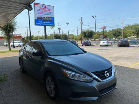 2018 Nissan Altima for sale at Magic Auto Sales in Dallas TX