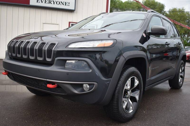 2014 Jeep Cherokee for sale at Dealswithwheels in Inver Grove Heights MN