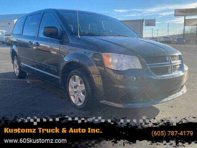 2012 Dodge Grand Caravan for sale at Kustomz Truck & Auto Inc. in Rapid City SD