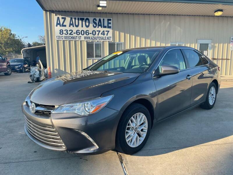 2016 Toyota Camry for sale at AZ Auto Sale in Houston TX