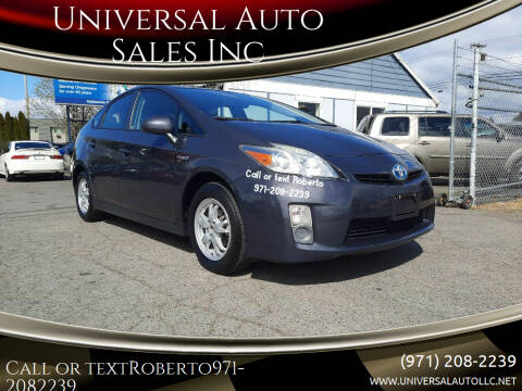 2010 Toyota Prius for sale at Universal Auto Sales Inc in Salem OR
