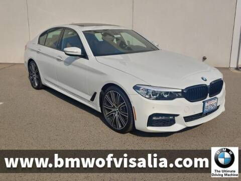 2018 BMW 5 Series for sale at BMW OF VISALIA in Visalia CA