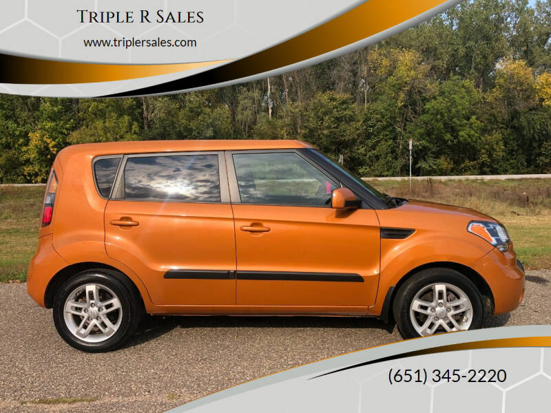 2011 Kia Soul for sale at Triple R Sales in Lake City MN