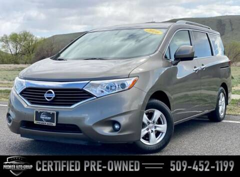 2016 Nissan Quest for sale at Premier Auto Group in Union Gap WA