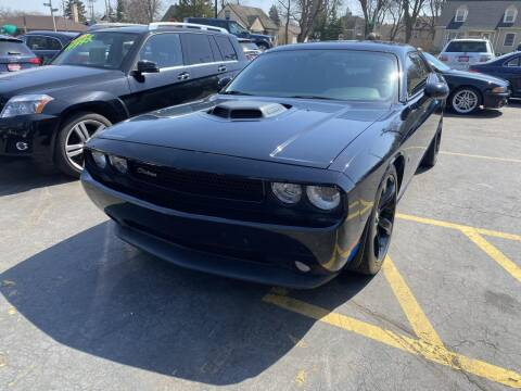 2014 Dodge Challenger for sale at CLASSIC MOTOR CARS in West Allis WI