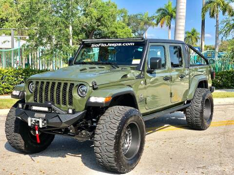 2021 Jeep Gladiator for sale at South Florida Jeeps in Fort Lauderdale FL