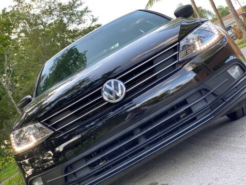 2016 Volkswagen Jetta for sale at HIGH PERFORMANCE MOTORS in Hollywood FL