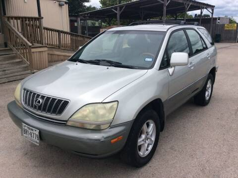 2003 Lexus RX 300 for sale at OASIS PARK & SELL in Spring TX