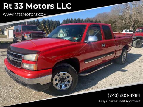 2006 Chevrolet Silverado 1500 for sale at Rt 33 Motors LLC in Rockbridge OH