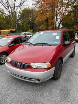 2002 Mercury Villager for sale at Penn American Motors LLC in Emmaus PA