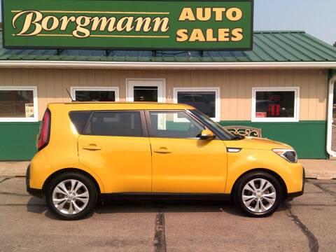 2014 Kia Soul for sale at Borgmann Auto Sales in Norfolk NE