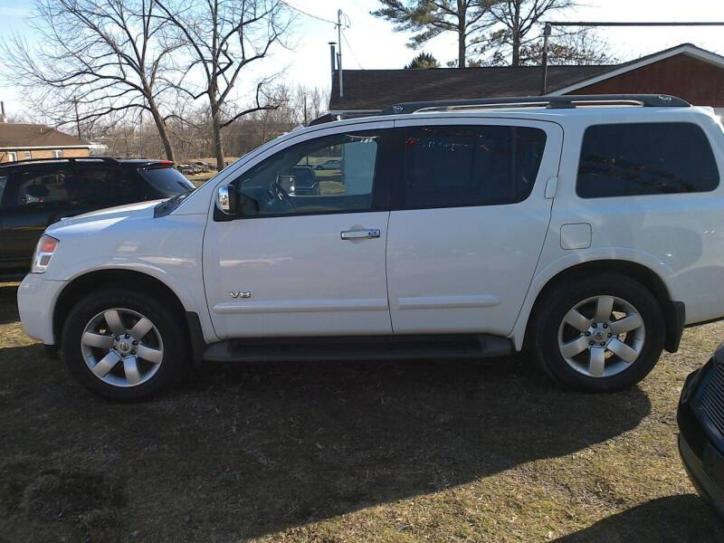 2008 Nissan Armada for sale at Action Auto Sales in Parkersburg WV