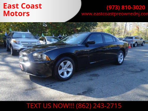 2014 Dodge Charger for sale at East Coast Motors in Lake Hopatcong NJ
