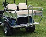 M&M 3-n-1 Rear Seat, Alum. Precede for sale at Jim's Golf Cars & Utility Vehicles - Accessories in Reedsville WI