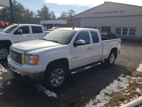 2012 GMC Sierra 1500 for sale at Topham Automotive Inc. in Middleboro MA