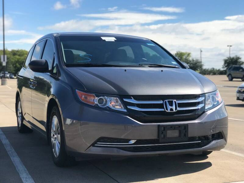 2015 Honda Odyssey for sale at Makka Auto Sales in Dallas TX
