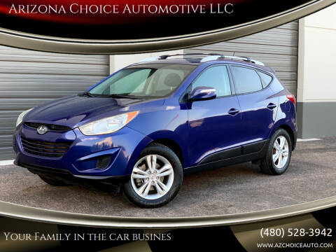 2012 Hyundai Tucson for sale at Arizona Choice Automotive LLC in Mesa AZ