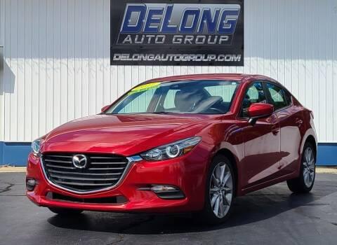 2017 Mazda MAZDA3 for sale at DeLong Auto Group in Tipton IN