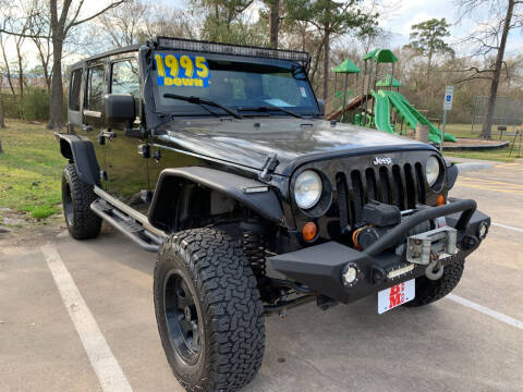 2007 Jeep Wrangler Unlimited for sale at B & M Car Co in Conroe TX