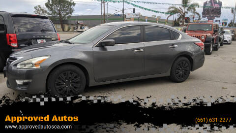2014 Nissan Altima for sale at Approved Autos in Bakersfield CA
