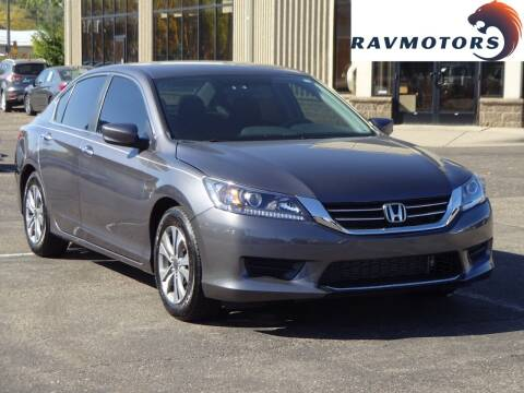 2014 Honda Accord for sale at RAVMOTORS 2 in Crystal MN