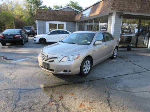 2007 Toyota Camry for sale at Millbrook Auto Sales in Duxbury MA