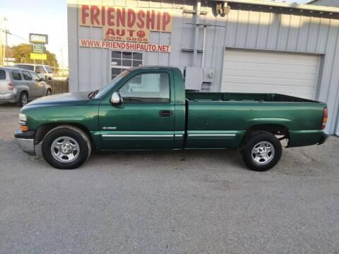 2000 Chevrolet Silverado 1500 for sale at Friendship Auto Sales in Broken Arrow OK